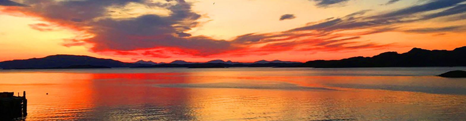 crinan sunset
