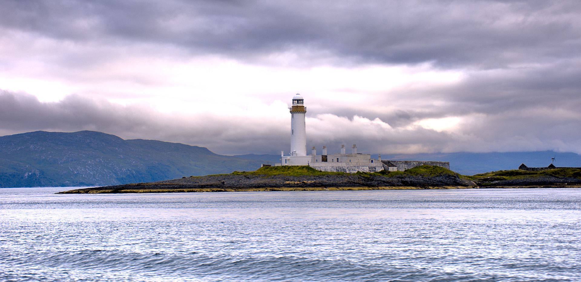 Lismore lighthouse, ferry to Mull