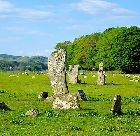 Kilmartin standing stones