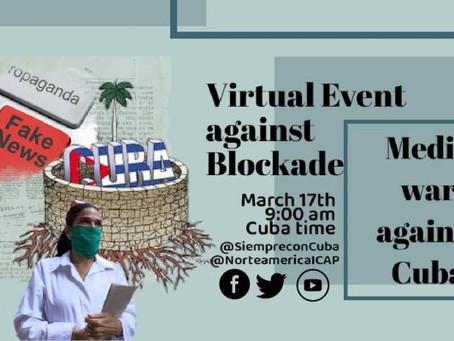 Denuncian en foro sobre la guerra mediática contra Cuba el impacto del bloqueo en las mujeres