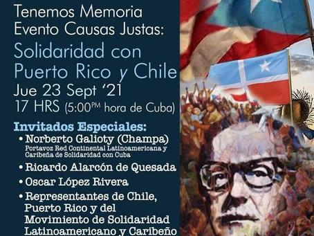 Llaman a reforzar solidaridad con las causas justas de los pueblos latinoamericanos y caribeños