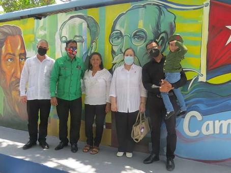 Solidaridad dominicana de plácemes por carta desde Cuba