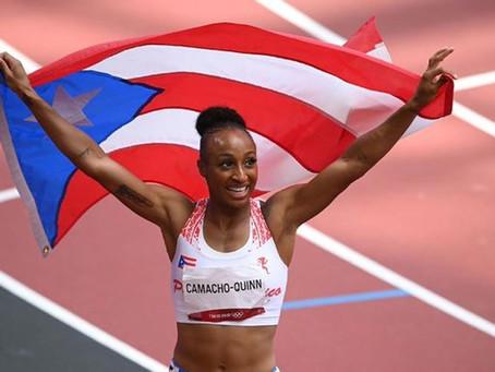 La Boricua Camacho-Quinn obtiene oro en vallas cortas de Tokio 2020