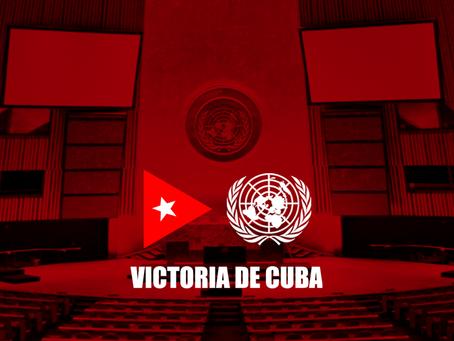 Auguran nueva victoria de Cuba en la ONU contra el bloqueo