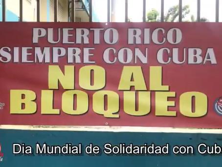 Puerto Rico: Recauda Comité de Solidaridad con Cuba insumos médicos, incluidas 500 mil jeringas