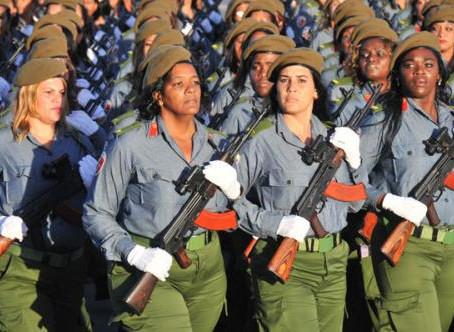 Algunas Mujeres destacadas en la Revolución Cubana