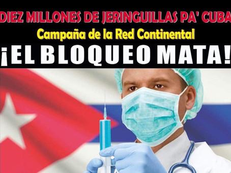 Si queremos ayudar a Cuba a salvar vidas hay que reclamar con fuerza la eliminación del bloqueo