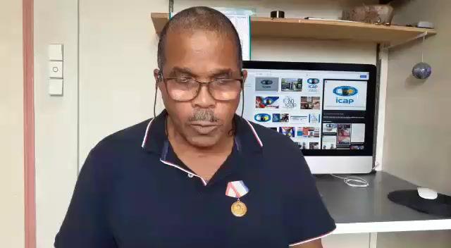 Mensaje del Presidente de la Asociaciôn Martinica Cuba Michel Nédan