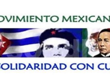 Declaración del Movimiento Mexicano de Solidaridad con Cuba