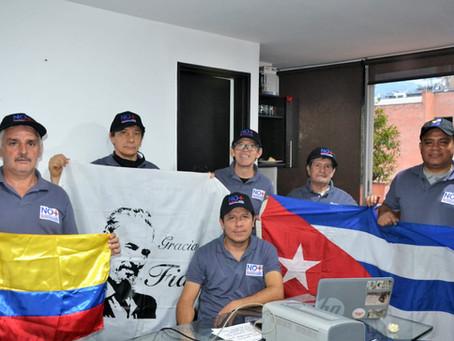 COLOMBIA SOLIDARIA CON LA GUARDIA EN ALTO