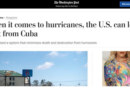 The Washington Post: Cuando se trata de huracanes, EE.UU. puede aprender mucho de Cuba