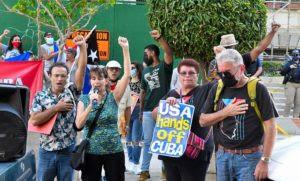 Puerto Rico Lucha contra el bloqueo económico a Cuba