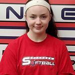 #7 Kacey Dean first base third  base cat