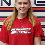 #23 Kate Paquette second base out  field