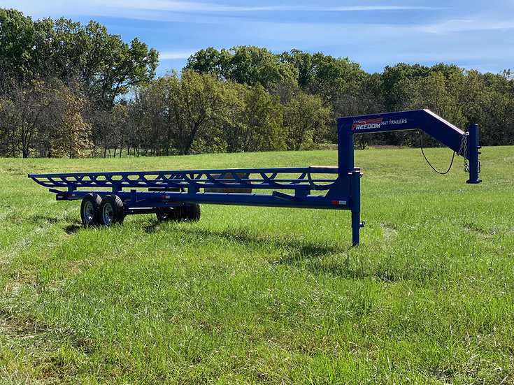 36' Single Row Hay Trailer