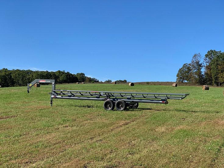 42' Single Row Hay Trailer