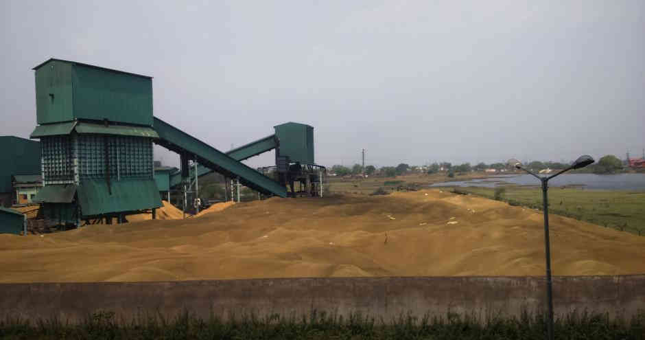 Rice husks for power in India