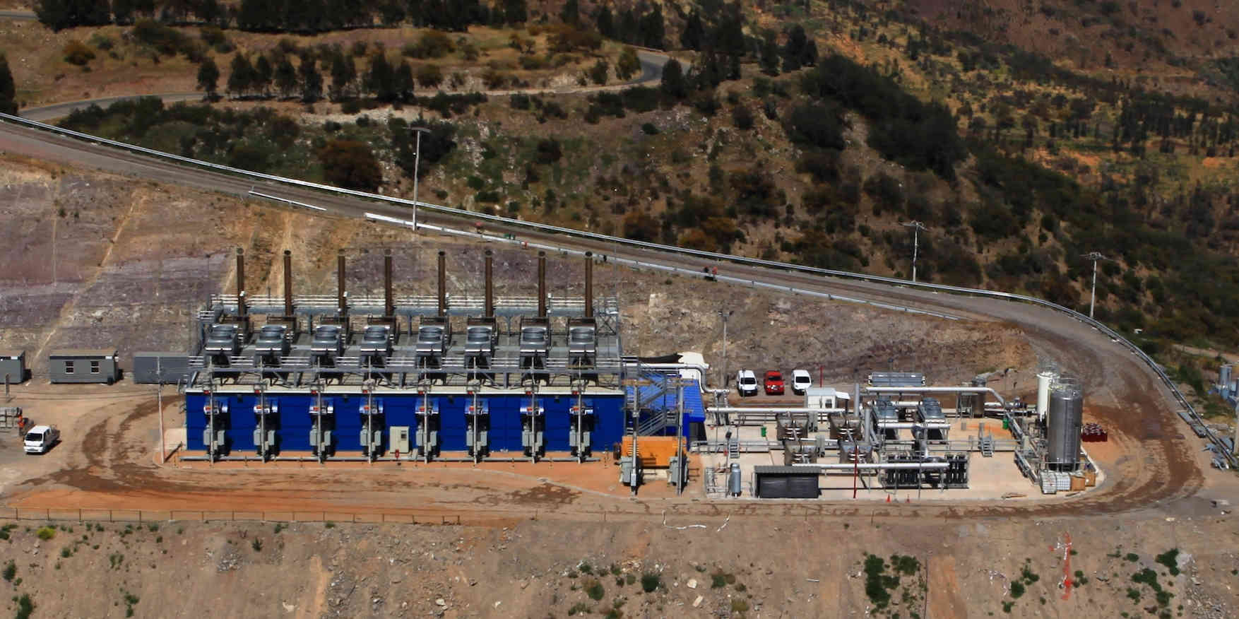 Landfill gas recovery in Chile