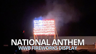 National Anthem with Lance Set Piece - WWB 2020