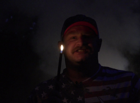 Michael Pitts shoots fireworks & wishes you a Happy 4th of July