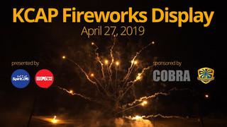 KCAP Fireworks Display - April 27, 2019