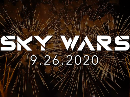 Spirit of '76 + Stellar Fireworks will present a Pyromusical at 'Sky Wars' on Sept 26, 2020