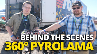 Peter Rogoz & Dan Haines talk 360-Degree PyroLama
