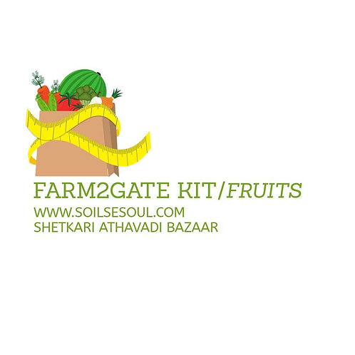 Farm2Gate kit/Fruits