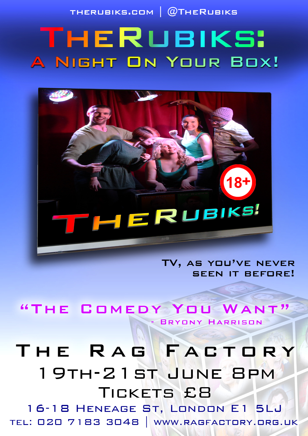 Rag Factory Poster