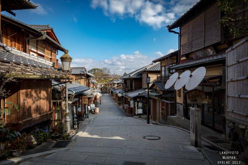 Morning of Kiyomizudera 清水寺の朝