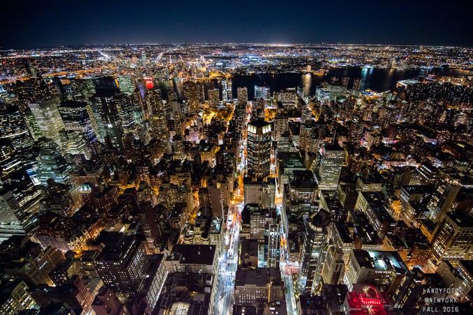 NYC Night View  纽约夜景