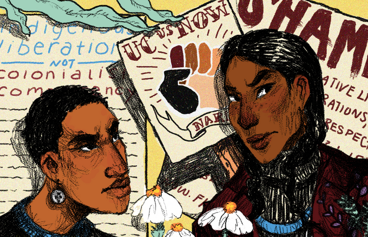 Indigenous People's Day Daily Cal Illustration