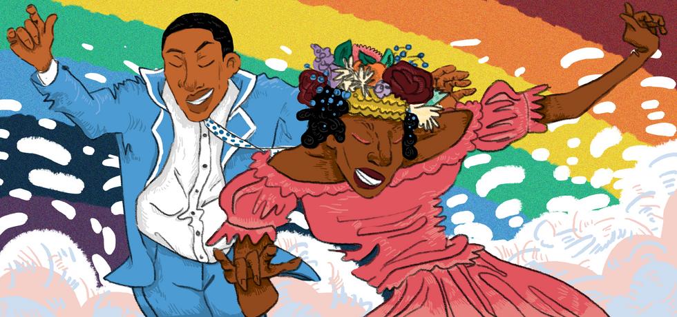 LGBTQIA+ Special Edition Daily Cal Illustration