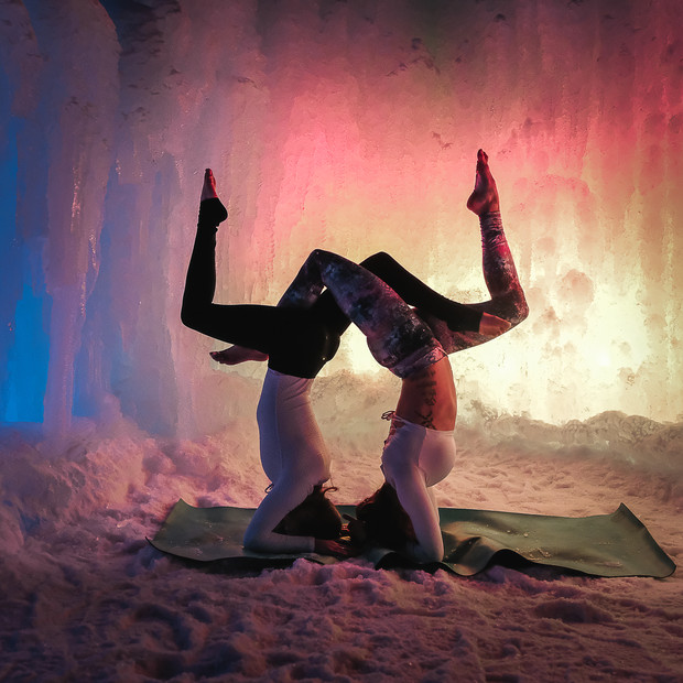 Ice Castle Series for MikaYogaWear