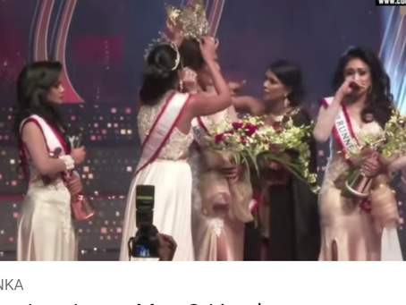 Mrs World Rips Crown from Ms Sri Lanka's Head
