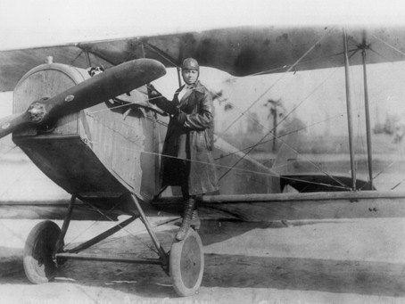 95 Years Since Aviator Bessie Coleman Fell into History