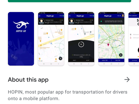 Rideshare App 'HopIn Go' is Here!