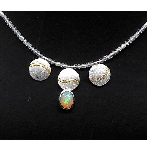 Halskette mit Opal