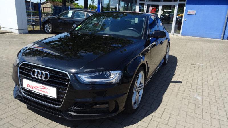 Audi A4 Lim. S line Sport /plus-Navi-PDC-Bluetooth-Xe