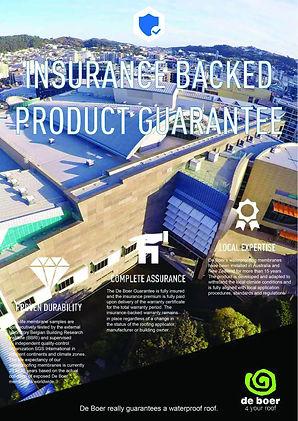 Insurance Backed Product Guarantee