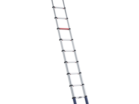 Telescopic ladder for the hard working handyman or professional