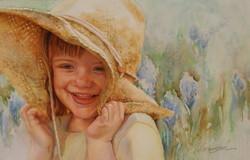 Straw Hat by Ann Winchester