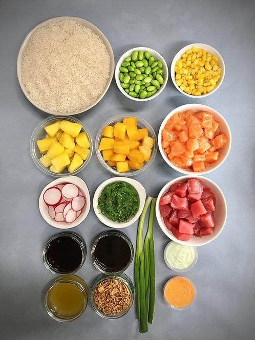 Original Pokéwaves DIY Kit - 4 Bowls