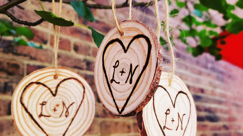Wedding/Bridal Shower Ornaments