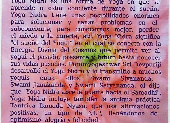 info yoga nidra only in spanish