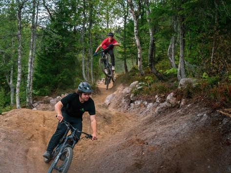 Bygger drømmedestinasjon for stisyklister i Hallingdal