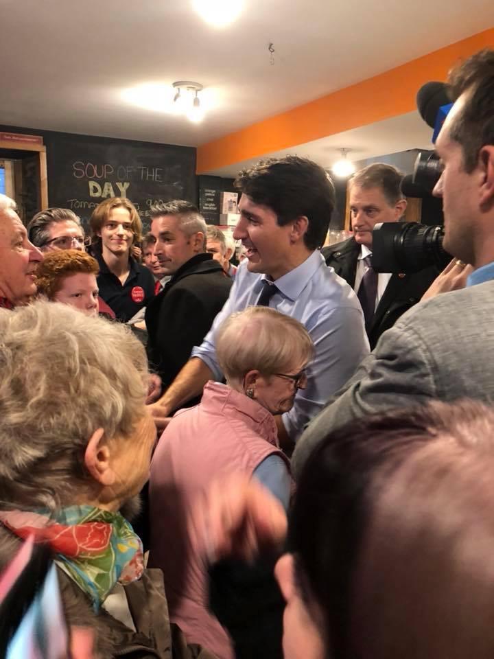 Justin Trudeau visit