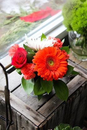 Arrangement de fleurs style centre de table