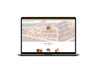Création de site web pour Pâtisserie Juste une fois