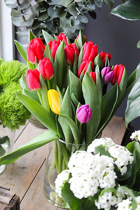 Bouquet de 10 tulipes
